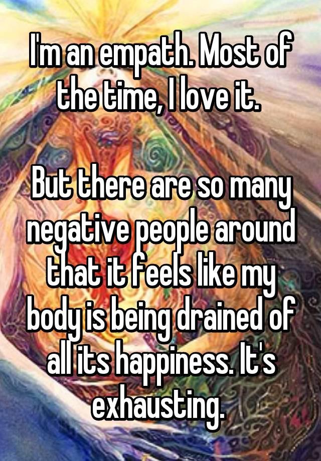 I am dating an empath