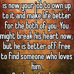You made a big mistake. It is now your job to own up to it and make life better for the both of you. You might break his heart now, but he is better off free to find someone who loves him.  Do the right thing.