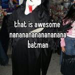 that is awesome nanananananananana batman