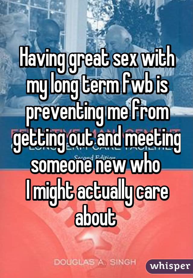 Sex with fwb