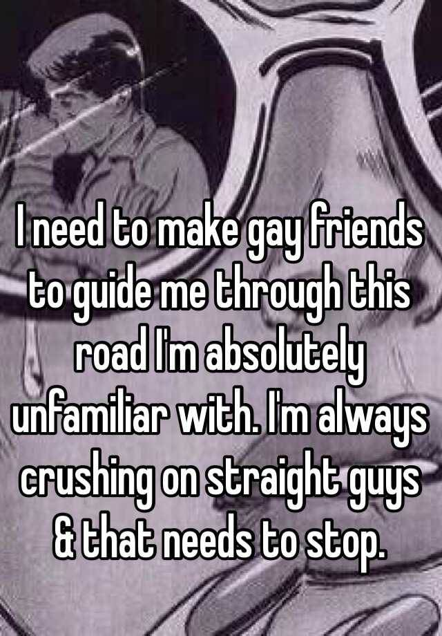 Find It Hard To Make Gay Friends  You     re Not Alone    Queerty