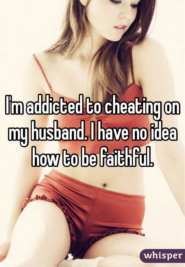 I like to watch my husband cheat