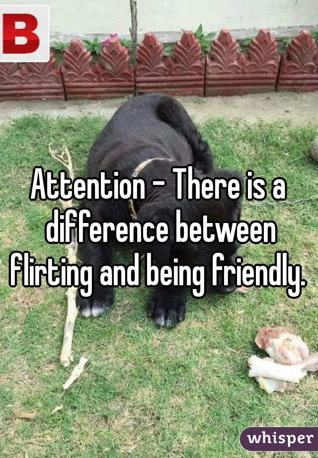 Difference Between Flirting and Friendly Flirting vs