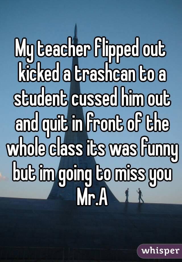 Teacher dating ex student