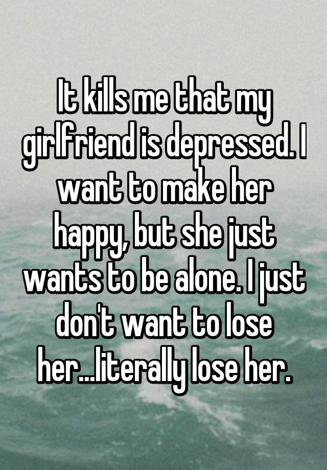 Dating someone who is depressed