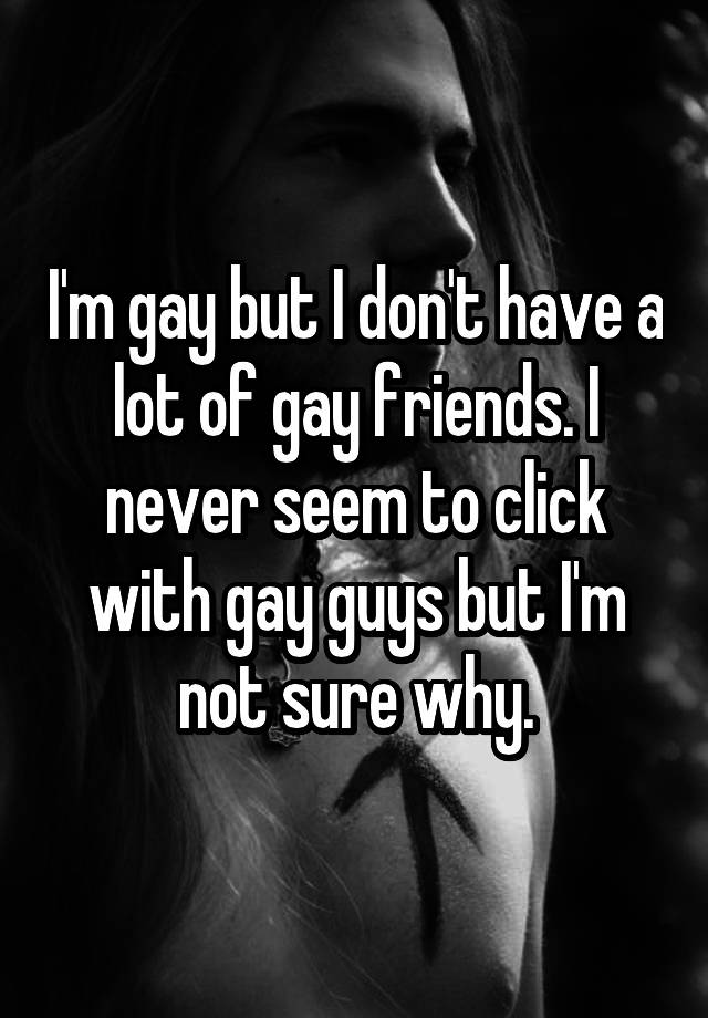 Other Gay How To Friends Meet