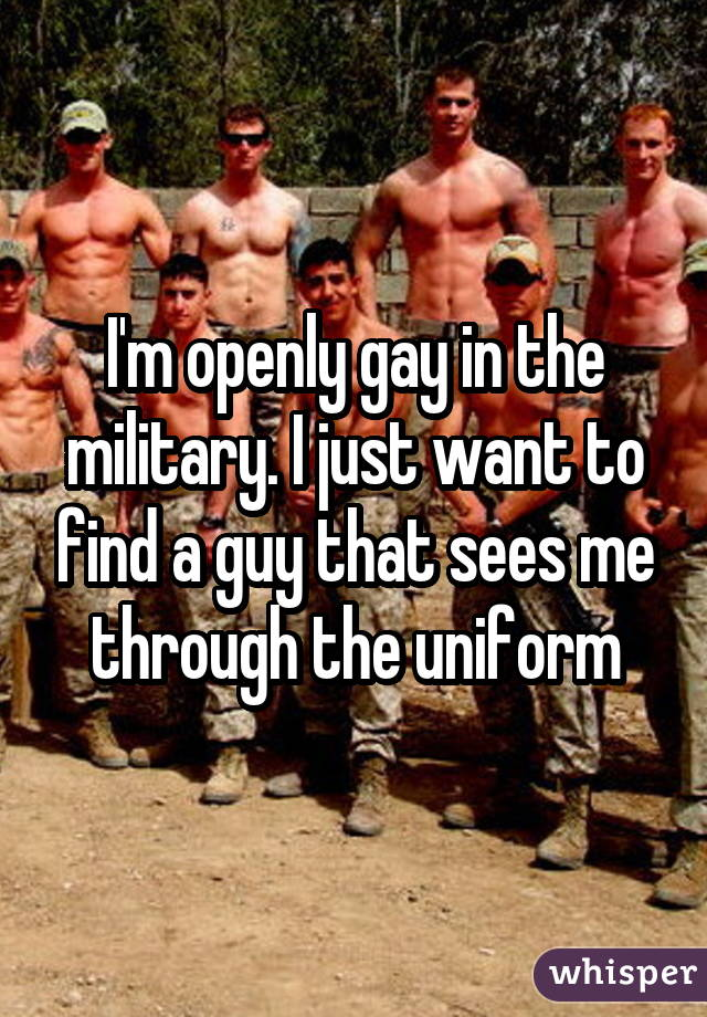 from Randy countries w openly gay military