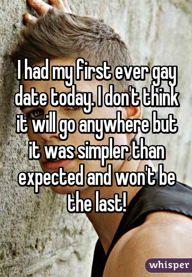 First Gay Date 57