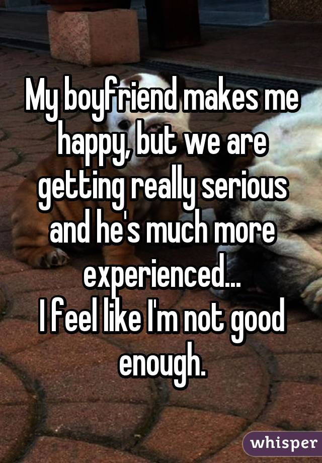 17 people confess what it s like to date someone more experienced