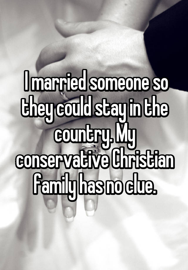 17 Confessions From People Who Didn't Marry For Love