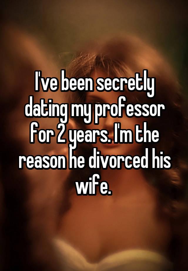 Dating my former professor
