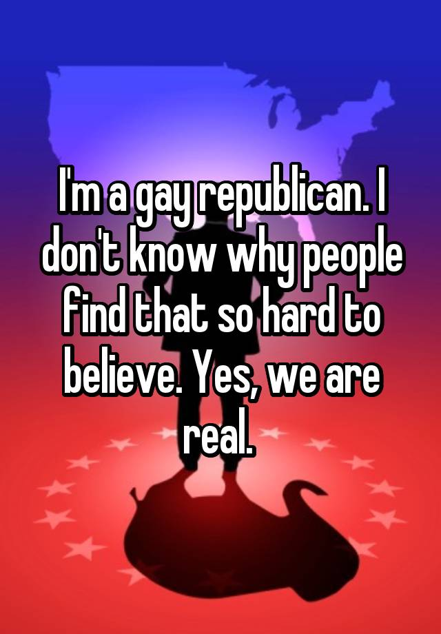 Real Confessions Prove It IS Possible To Be Gay And Republican