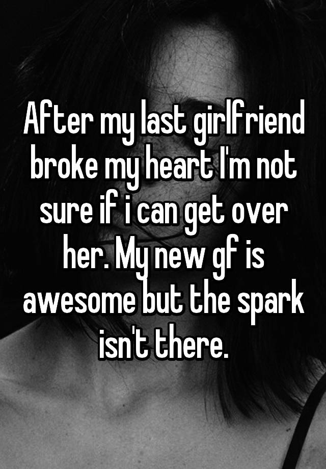 nice guy but no spark