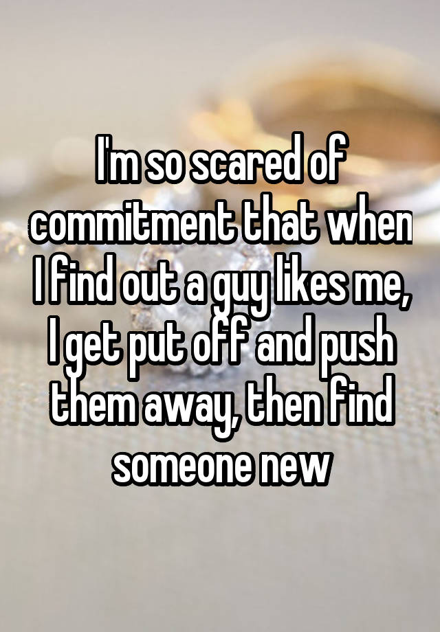 Who Guy Hookup Afraid Of Is Commitment A