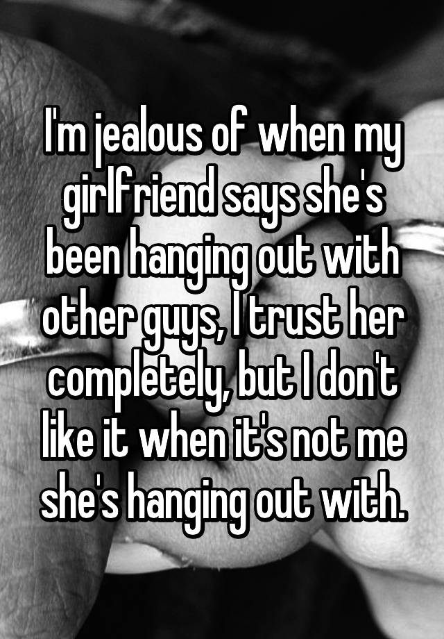the jealous guys