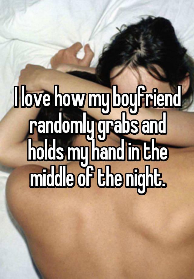 why does my boyfriend lie to me