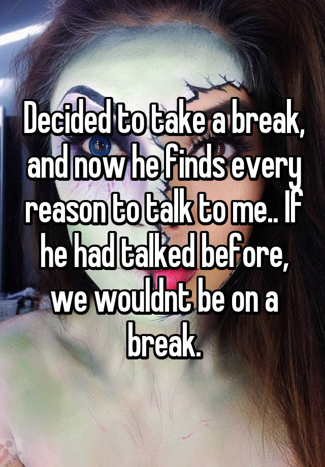 She Is Taking A Break From Dating