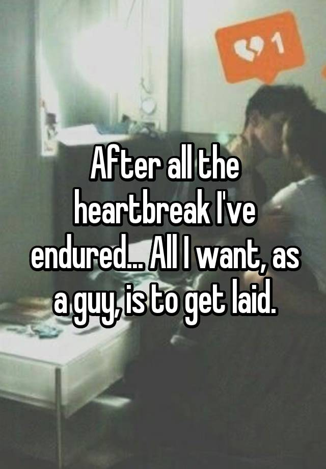 Dealing With A Broken Heart For Men