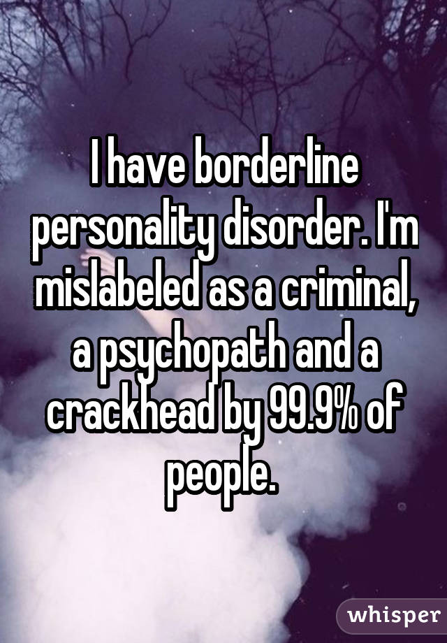 Borderline personality disorder dating a sociopath