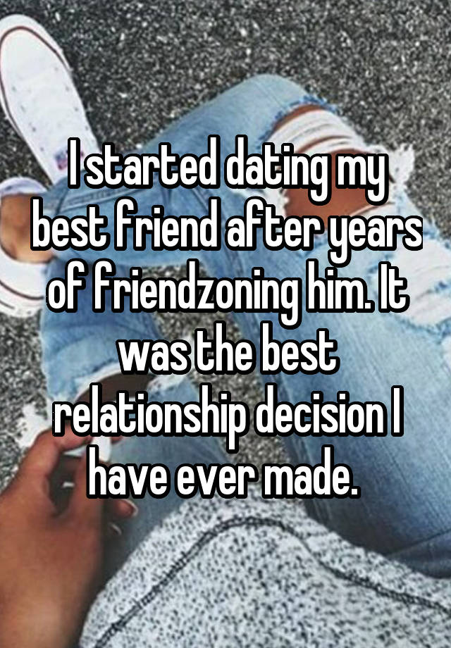 Friends just started dating