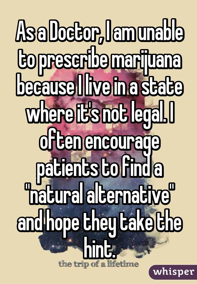 052d537aff0ffa68367ef352131834e44ce63c wm 18 Medical Professionals Who Admit To Smoking Weed