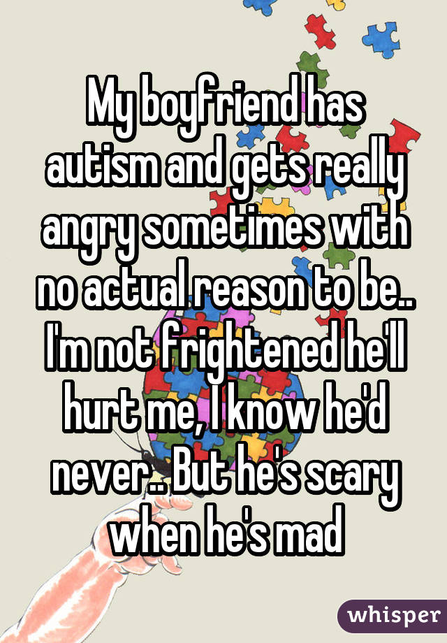 dating someone autism Matchcom, the leading online dating resource for singles search through thousands of personals and photos go ahead, it's free to look.