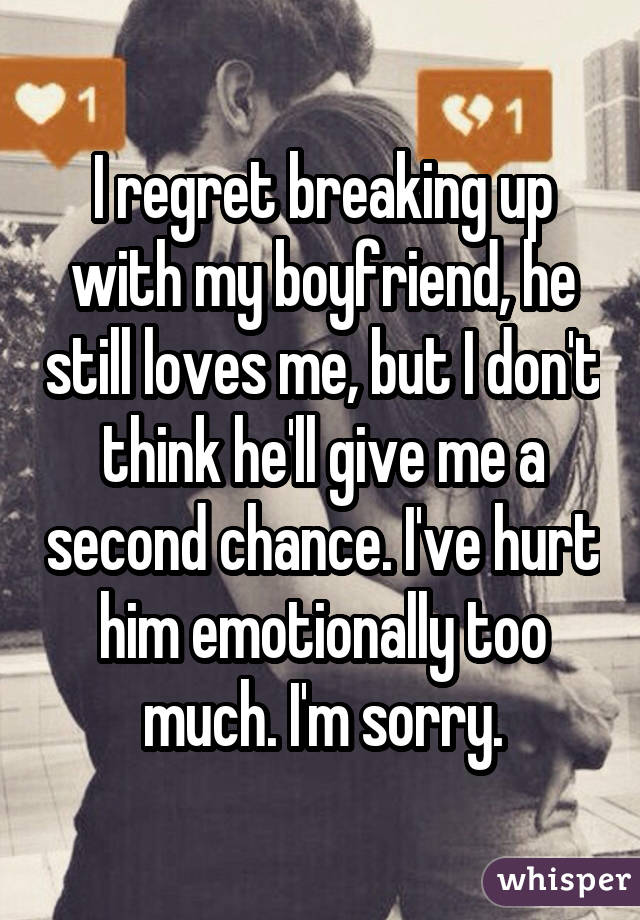 why does it still hurt after break up