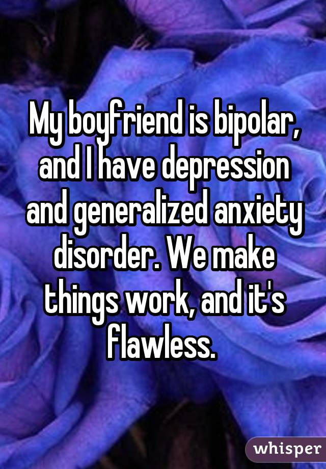 22 couples who both have mental illnesses confess what their