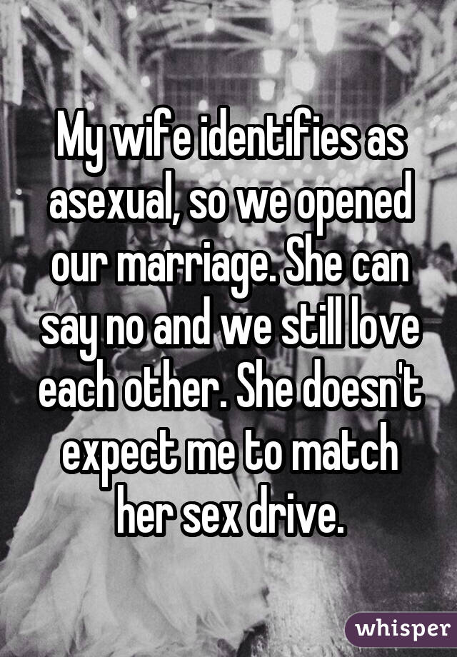 No sexual attraction to spouse