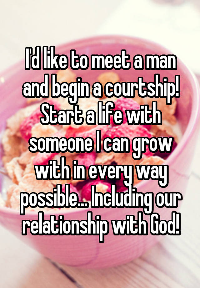 How To Know If A Guy Is Courting You