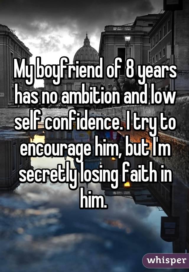 Relationship problems that arise when your partner lacks ambition