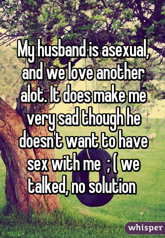 Here's what it's really like to be asexual and married